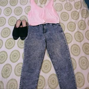 Forever 21 Marled Jeans